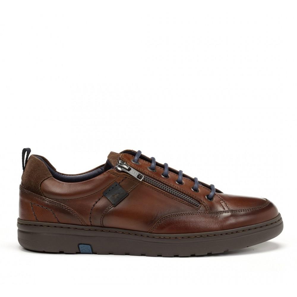 Zapatos modelo Atlas, cordones y cremallera