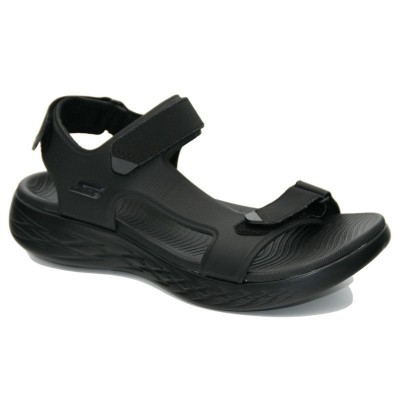 Sandalia Skechers negra