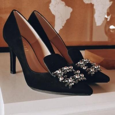Zapatos tacón alto Rapunzel de Lodi