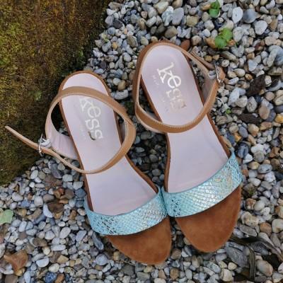 Sandalia de piel KESS