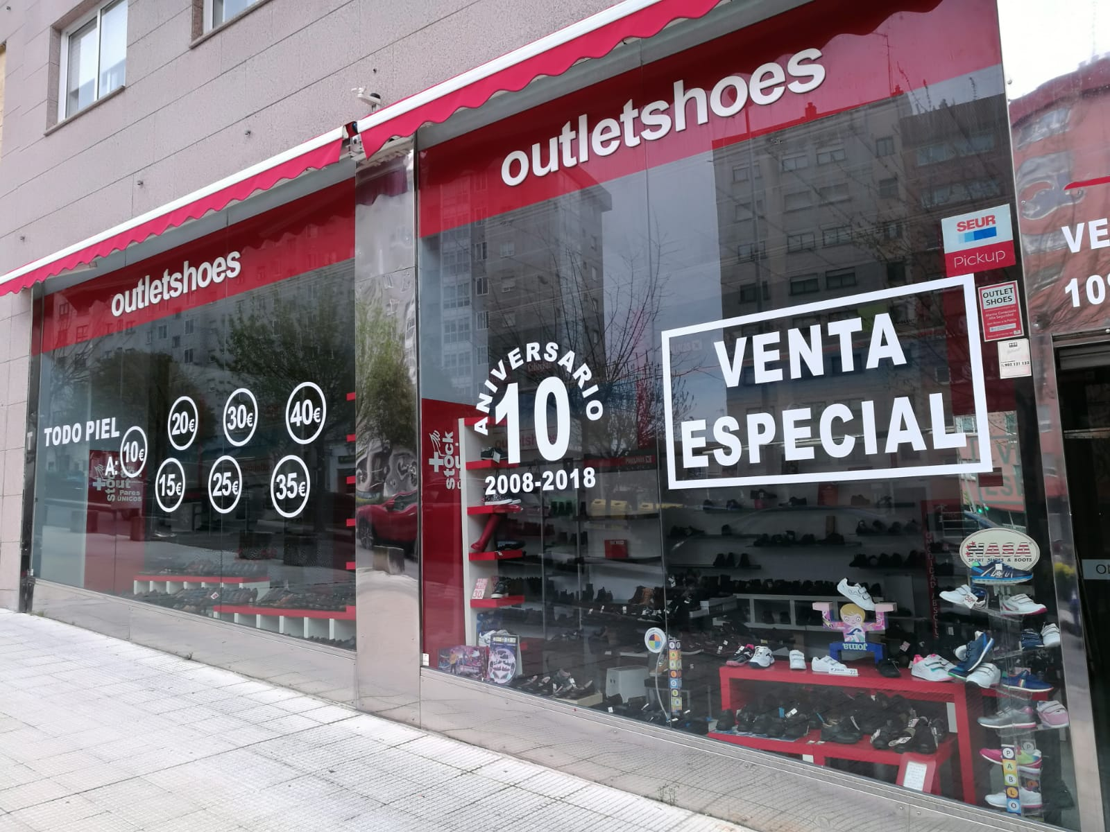 Outlet shoes ext